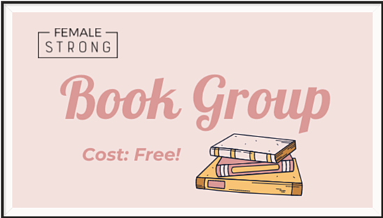 Female Strong Book Group Logo