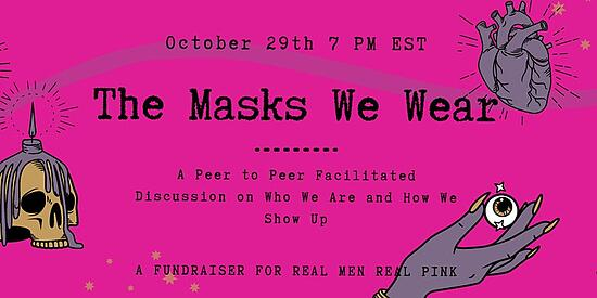 The Masks we Wear Event Thumbnail