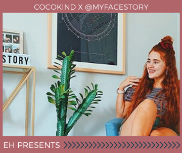 cocokind x @myfacestory