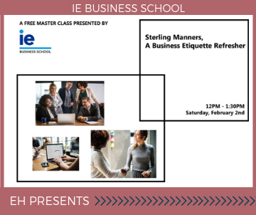 Sterling Manners, a Business Etiquette Refresher