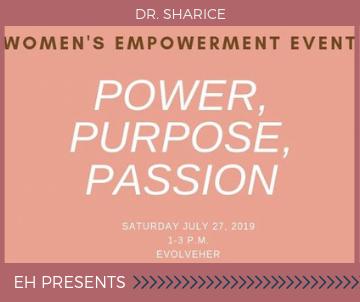 Power, Purpose, Passion