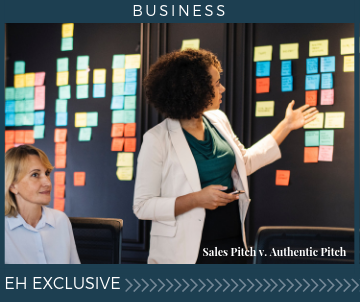 Show Up Real: The Power of Authenticity for Your Business - (Sales Pitch v. Authenticity)