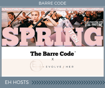 Barre Code Spring It On