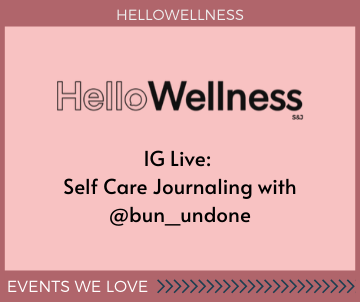 Self Care Journaling with HelloWellness