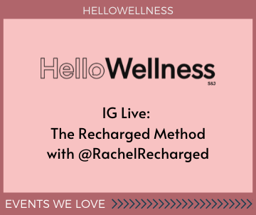 The Recharged Method with HelloWellness